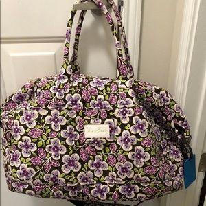 Vera bradley overnight bag